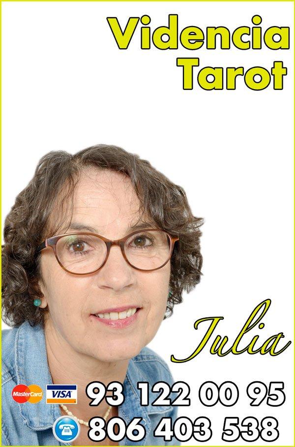 Julia Videncia y tarot de los arcanos